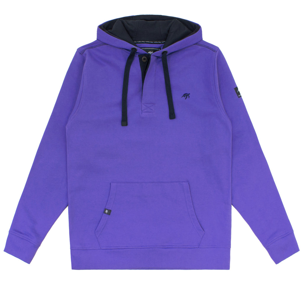 Mens Boatyard Button Up Hood Indigo Haze