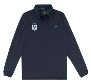 Mens Mullins Club Rugby Shirt - Harbour Blue