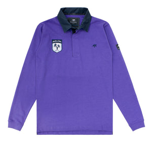 Mens Mullins Club Rugby Shirt Indigo Haze