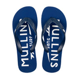 Mullins Adults Luxury Flip Flops in Blue