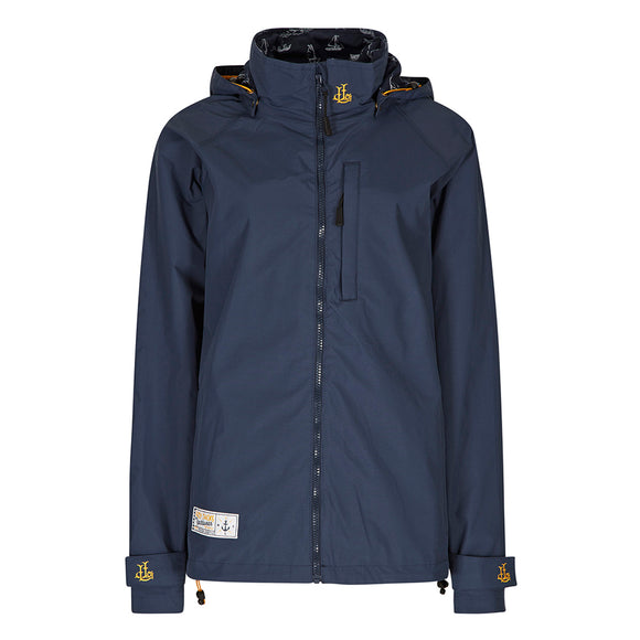 Lazy Jacks Ladies Waterproof Jacket - Marine