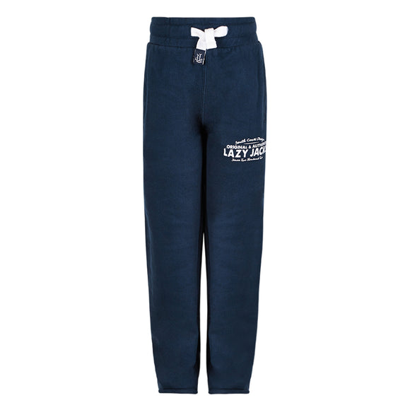 Lazy Jacks Childrens Supersoft Sweatpants - Marine