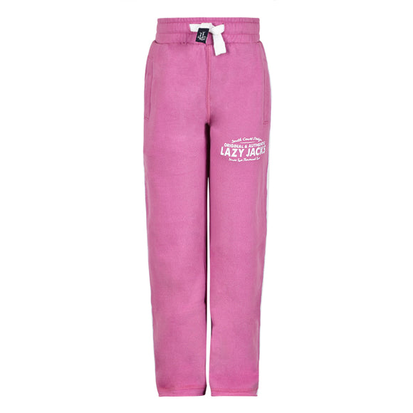Lazy Jacks Childrens Supersoft Sweatpants - Raspberry
