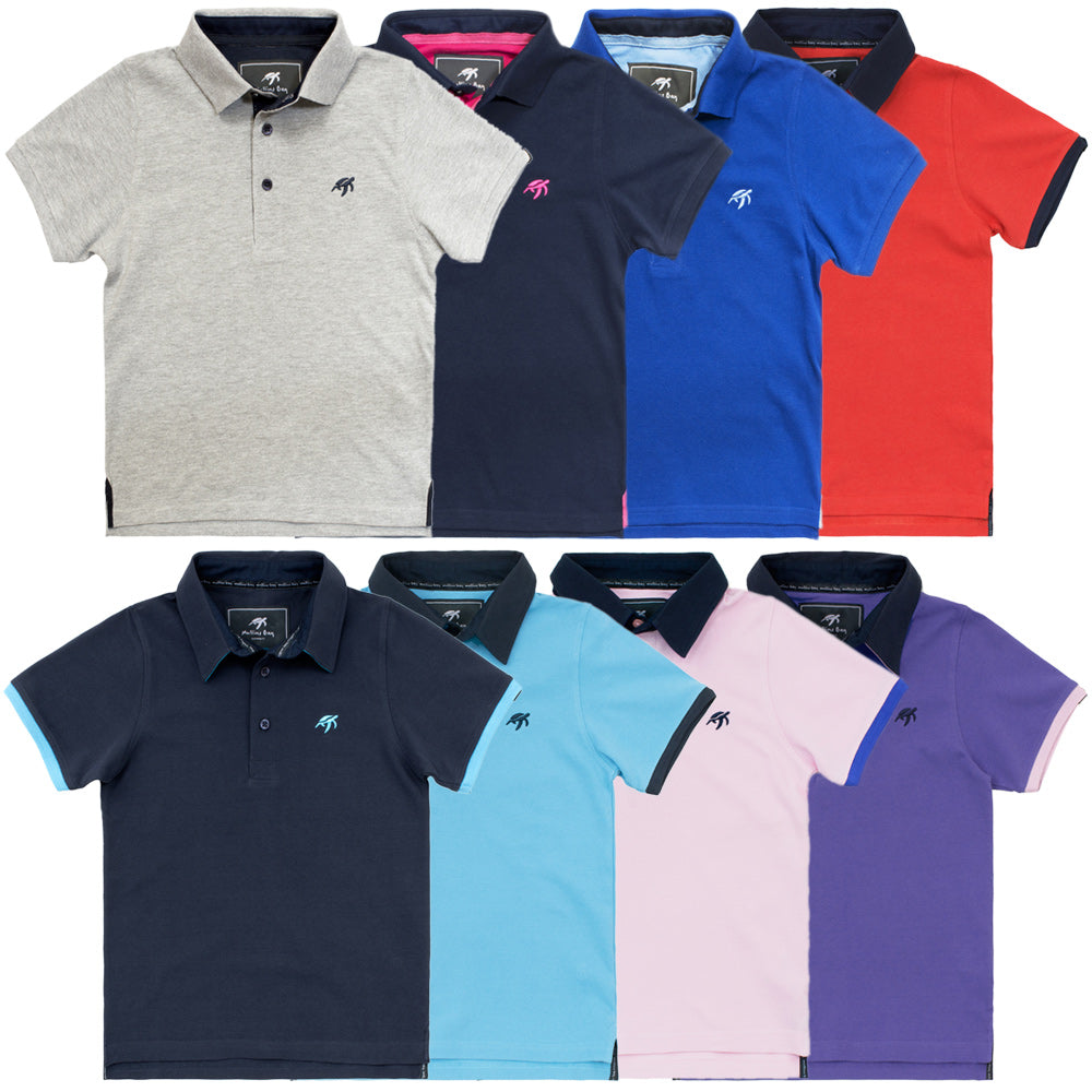 Childrens Polo Bundle - Mix and Match - 3 Pack