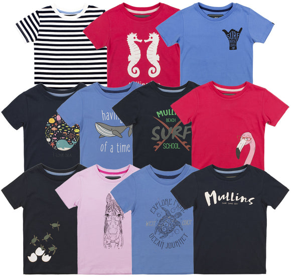 Childrens T Shirt Bundle - Mix and Match 3 Pack