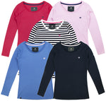 Ladies Long Sleeve T-shirt Bundle - Mix and Match - 3 Pack