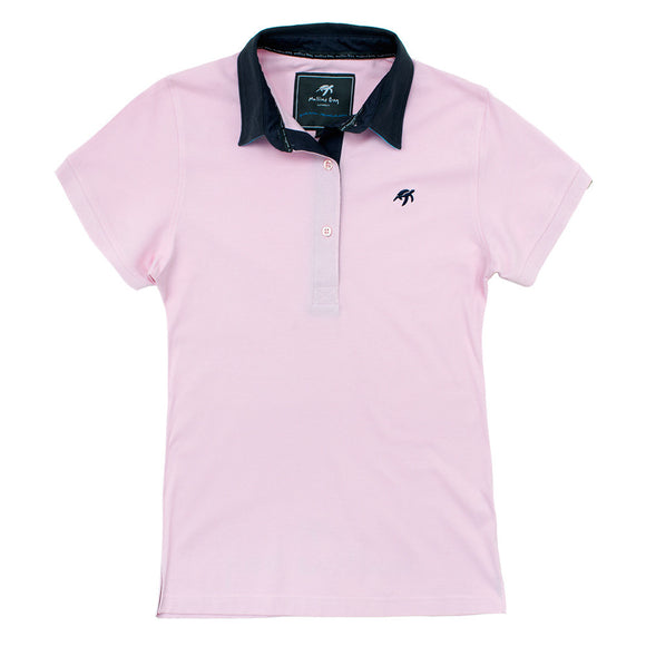 Ladies Mullins Club Polo Shirt - Ice Pink
