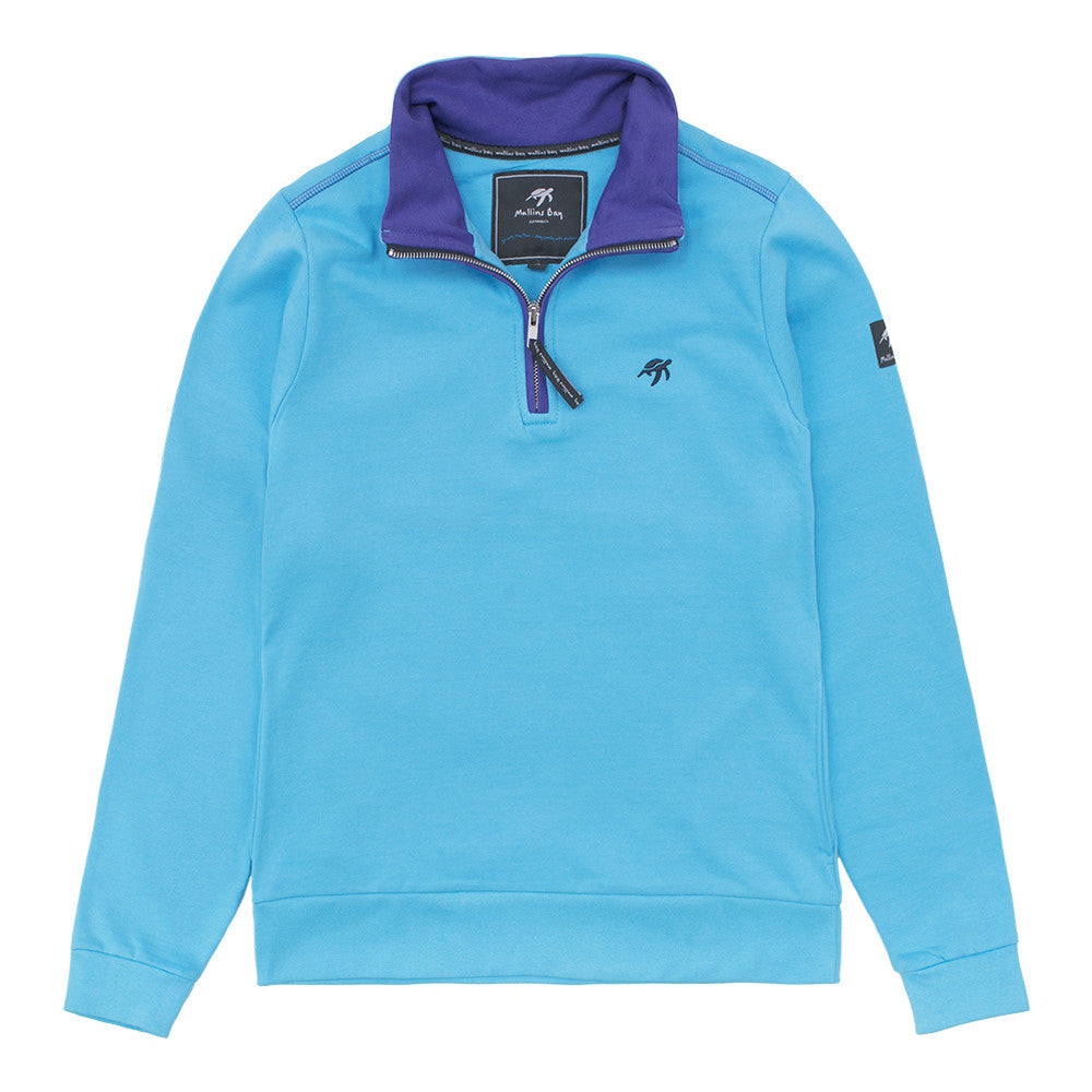 Ladies West Coast Half Zip Sweatshirt Breeze