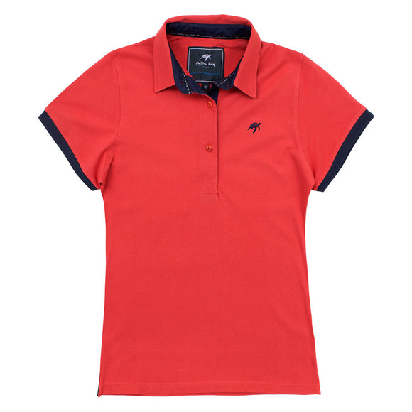 Ladies Mullins Club Polo Shirt - Spicy Red