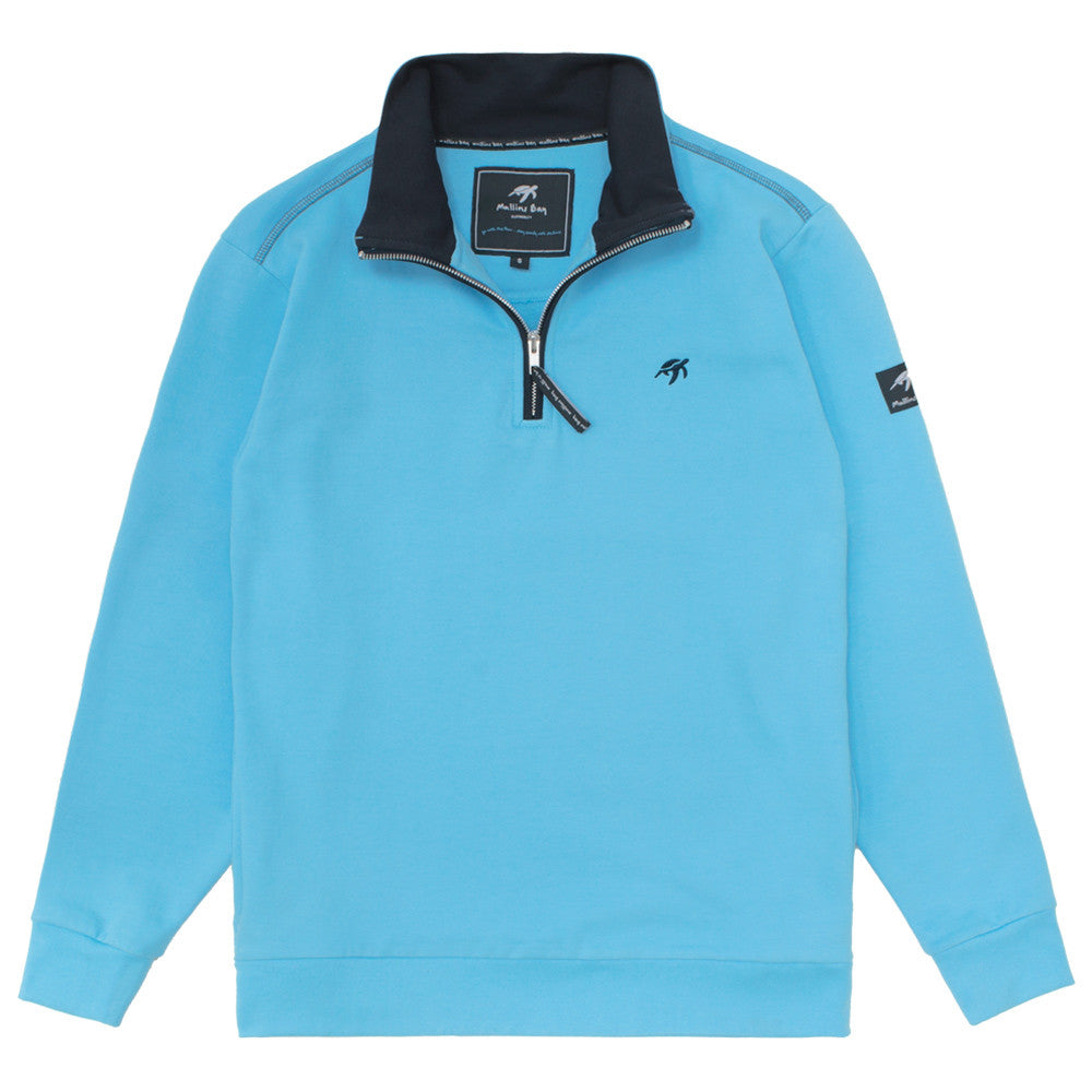 Mens West coast Half Zip Sweatshirt Breeze