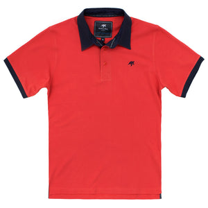 Unisex Mullins Club Polo Shirt - Spicy Red