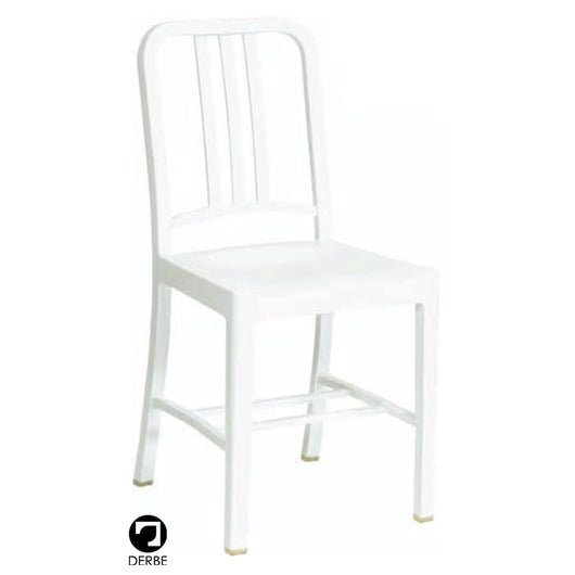Silla 111 Navy Chair o Emeco 1006 blanca
