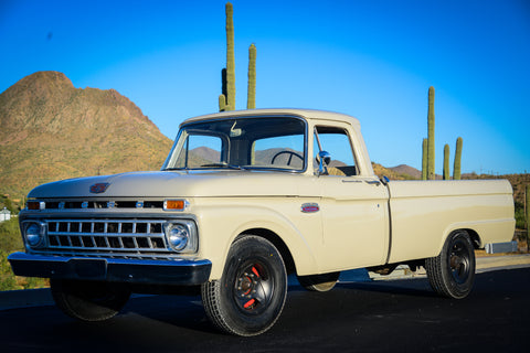 1965 f250 352 v8 4 speed for sale - restored - restomod - hot rod f100
