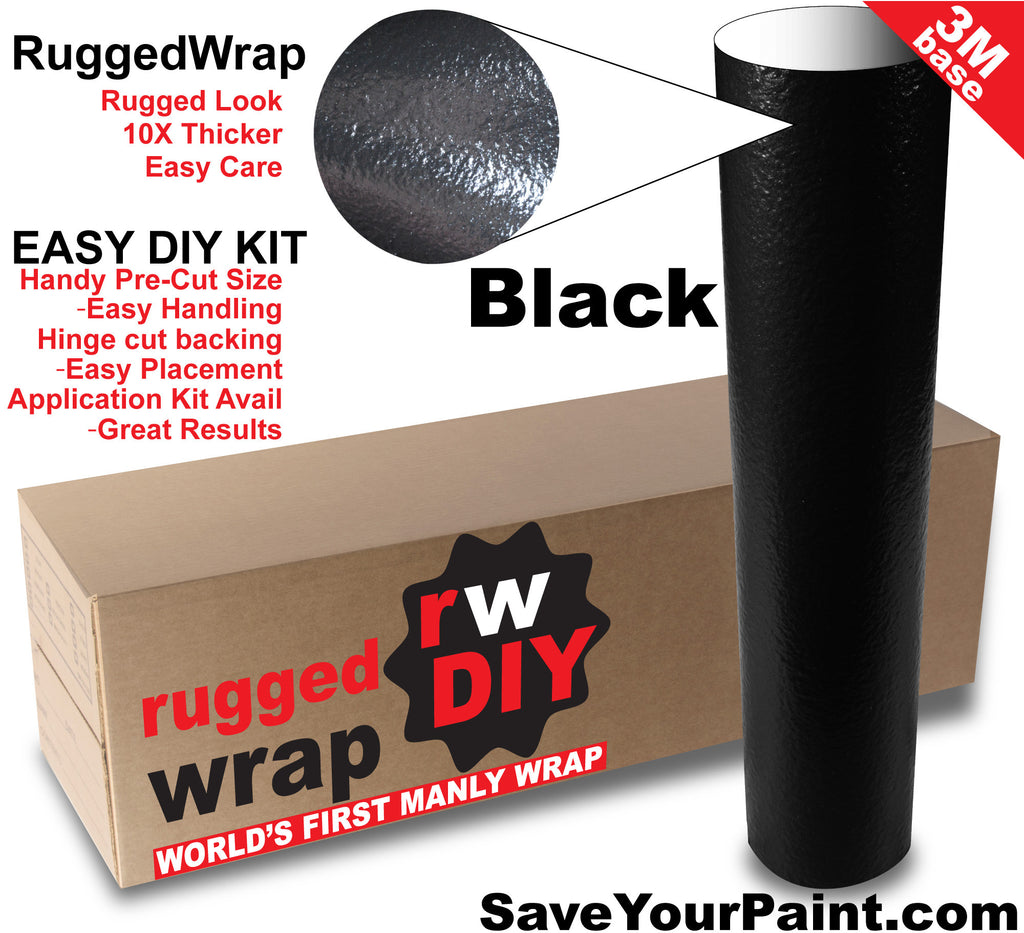 World S First Bed Liner On Body Panel Look Vinyl Wrap 3m