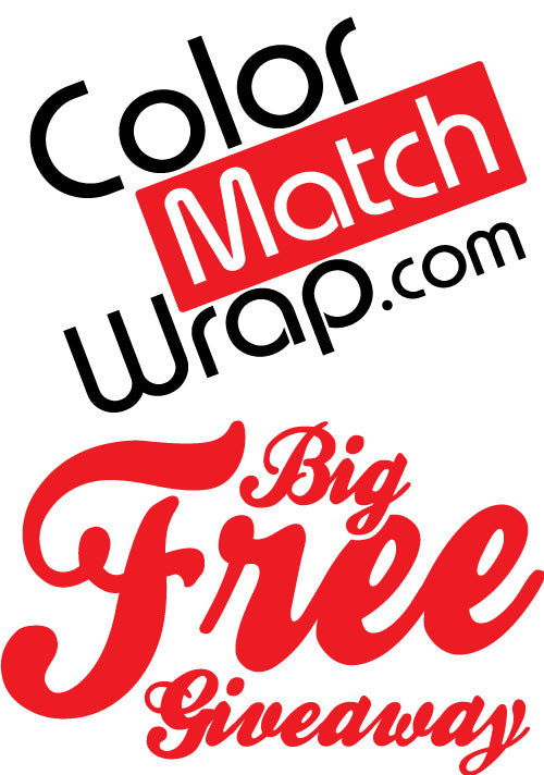CONTEST Body Paint Color Matching Vinyl Wrap GIVEAWAY