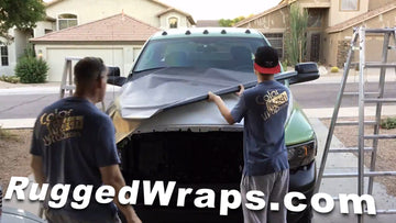 RuggedWrap Vinyl Wrap Takes on Paint Protection & Bed Liner Market
