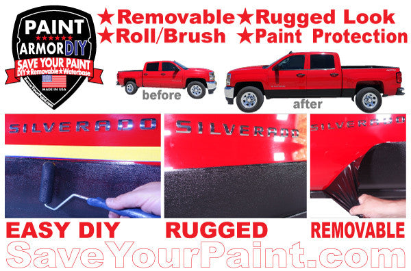 Rocker Panel Protection: PaintArmorDIY Removable Paint Protection