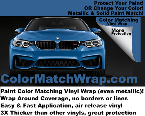 Scottsdale FREE vehicle wrap: match your paint with a vinyl wrap