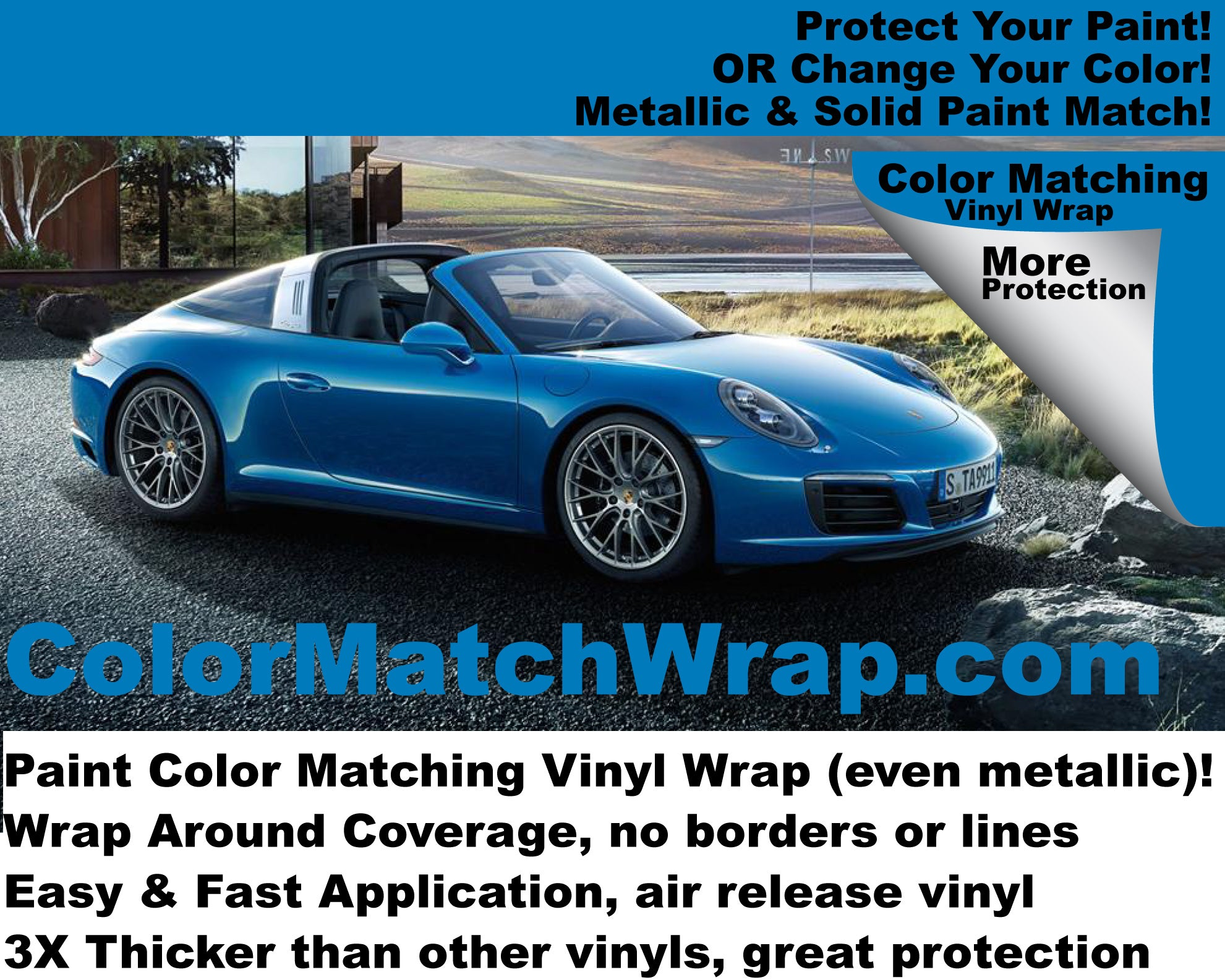 body Paint Color Match car Vinyl Wrap