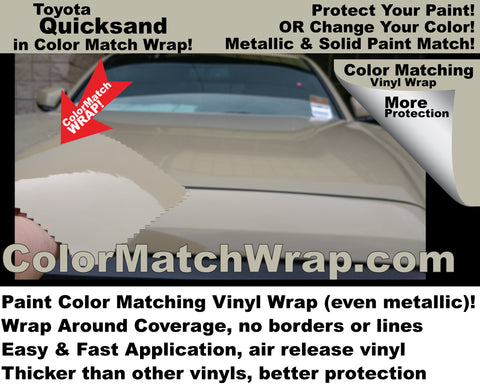 Toyota Quicksand 4V6 buy in a vinyl wrap!
