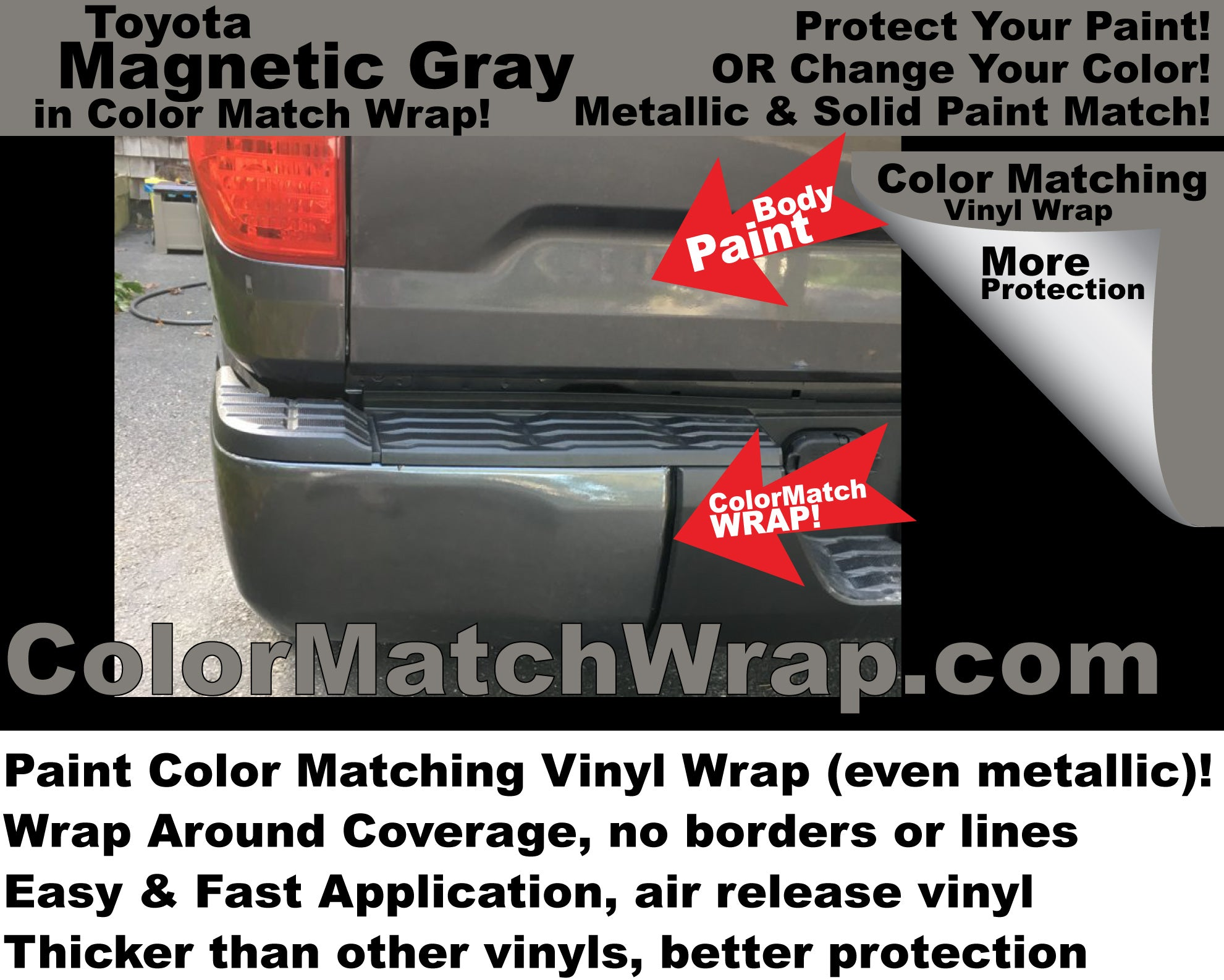 Body and other Trim Parts Chrome Delete with Color Matching Vinyl Wrap