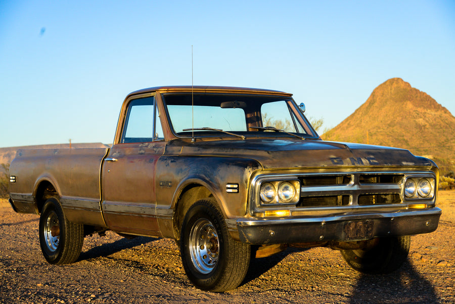 1968 Chevy C10 Barn Find Patina For Sale - GMC C20