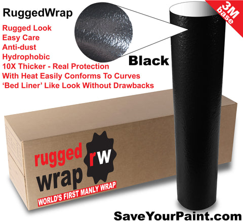 ruggedwrap takes on bed liner market for paint protection