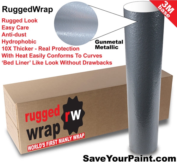 RuggedWrap, a Tough Vehicle Wrap Bed Liner On Body Rugged Looks