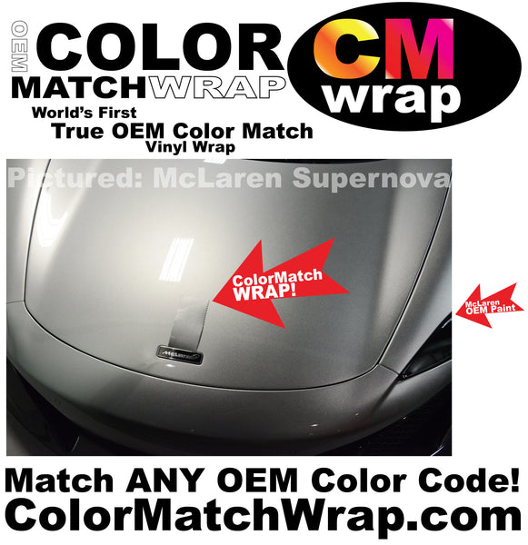 same as body color Match Wrap