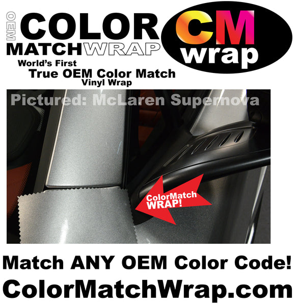 Body Paint color Matching vinyl wrap, oem paint code vinyl wrap