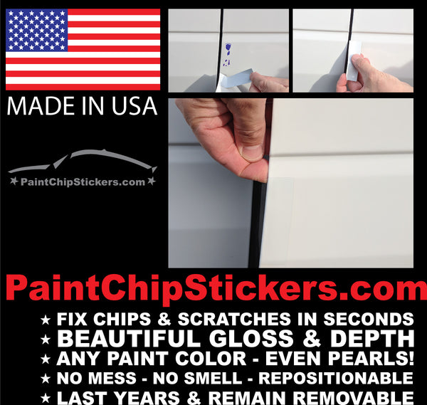 Paint Chip Stickers Body Color Matching Chip Amp Scratch