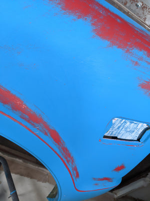 Rusted Wrap Patina Vinyl - Sandable Wrap! Natural Aged Look in Minutes!