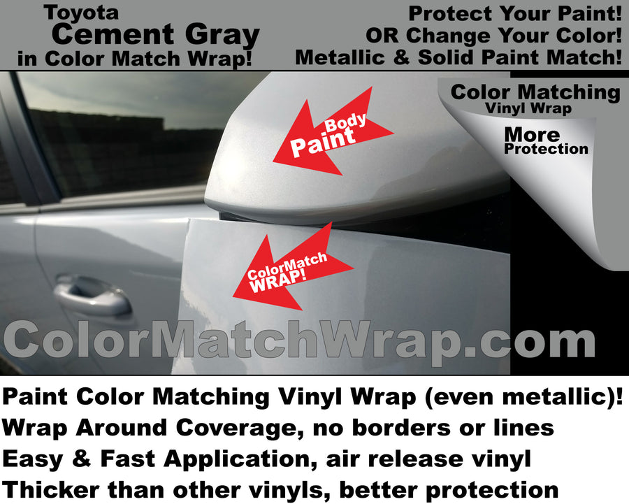 Body Paint Color Matching Vinyl Wrap - Interior Parts