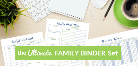 Ultimate Family Binder Printable Set