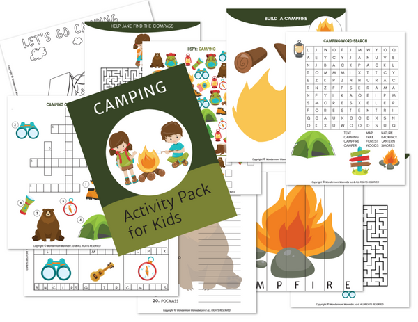 Printable Kids Activity Books Bundle