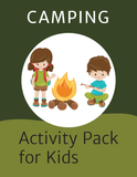 Camping Activity Kit for Kids