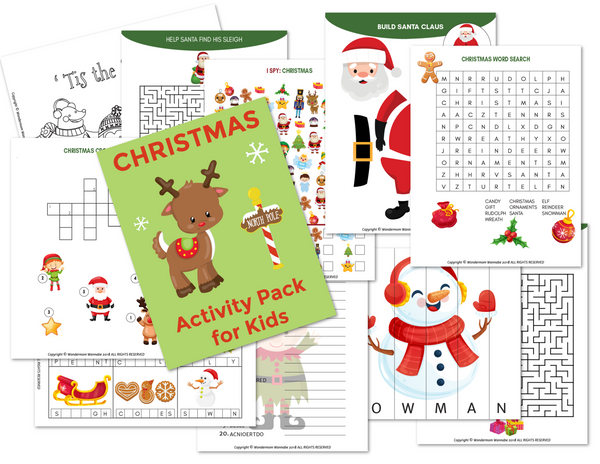 Christmas Activity Kit for Kids