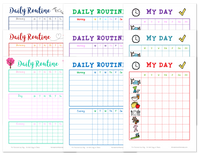Daily Routine Planning Pages