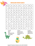 Dinosaur Activity Kit for Kids