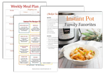 Instant Pot Family Favorites Digital Cookbook
