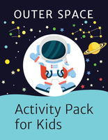 Outer Space Activity Kit for Kids