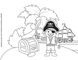 Pirate Activity Kit for Kids