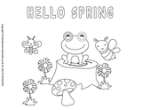 Spring Activity Kit for Kids