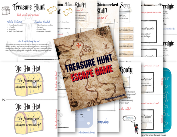 Treasure Hunt Escape Game
