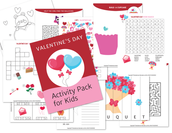 Valentine's Day Activity Kit for Kids