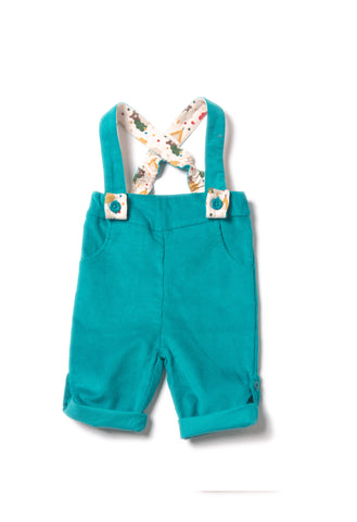 Peacock Blue Bubble Bottoms - Polly & Pickles Baby Boutique