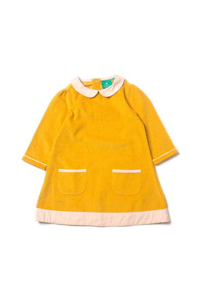Gold Tunic Dress - Polly & Pickles Baby Boutique