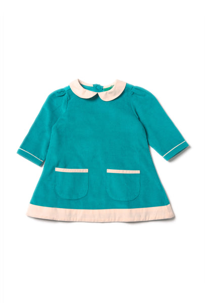 Peacock Tunic Dress - Polly & Pickles Baby Boutique