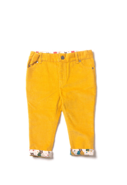 Gold Cord Jeans - Polly & Pickles Baby Boutique
