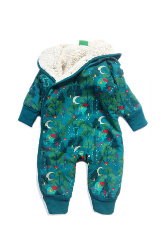 Midnight Jungle Snowsuit - Polly & Pickles Baby Boutique